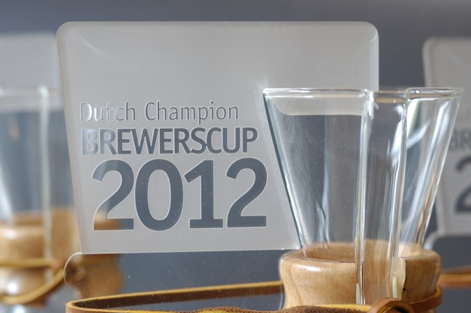 Detail wedstrijdprijs dutch champion brewerscup 2012