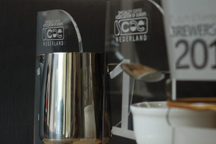 Wedstrijdprijzen SCAE Nederland op een rij; Latte Art, Brewerscup en Cuptasting 2012